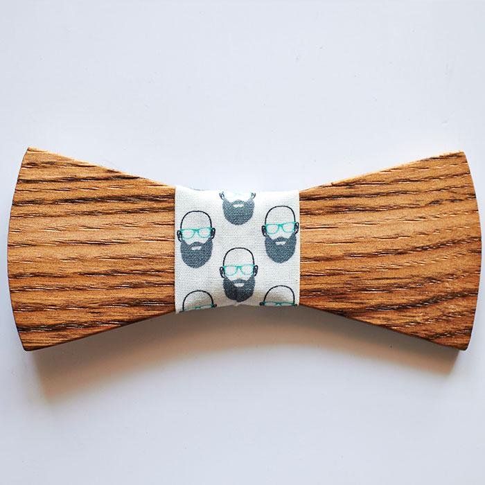 Pajarita madera casta o barbudo pajaritas de madera for Madera de castano