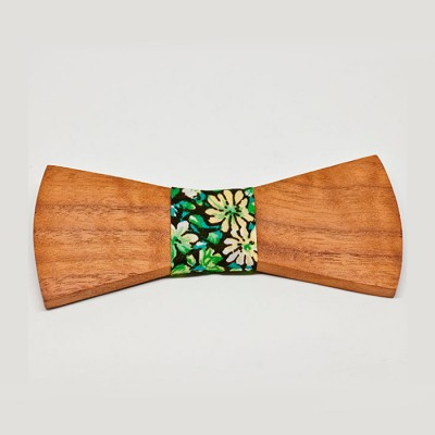 pajarita-de-madera-bow-ties-wood-nogal-flores
