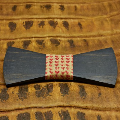 pajarita-de-madera-bow-ties-wood-regular-corazones