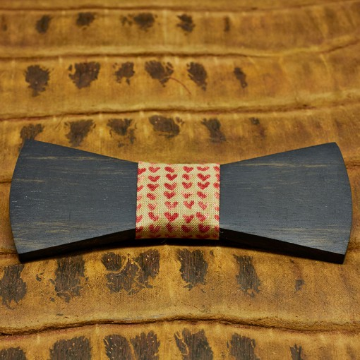 pajarita-de-madera-bow-ties-wood-regular-corazones
