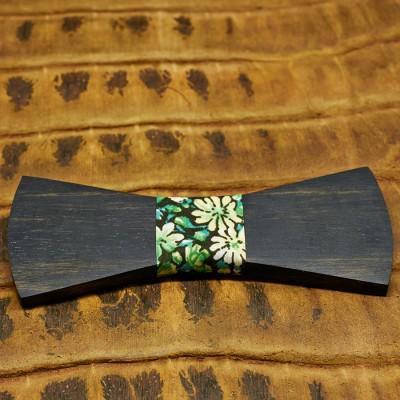 pajarita-de-madera-bow-ties-wood-regular-flores