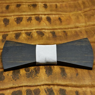 pajarita-de-madera-bow-ties-wood-regular-plata