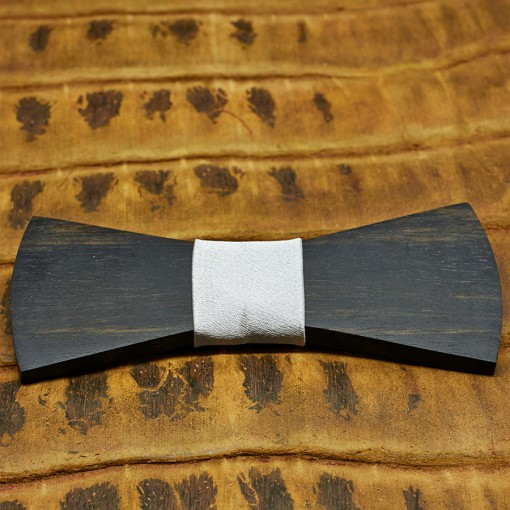 pajarita-de-madera-bow-ties-wood-regular-plata